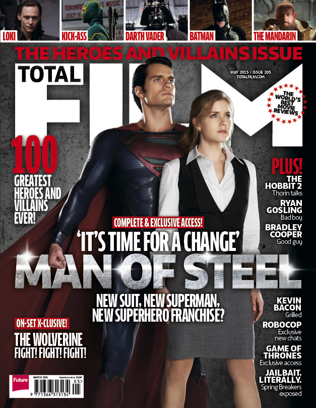 Superman Lois Lane On The Cover Of Total Film